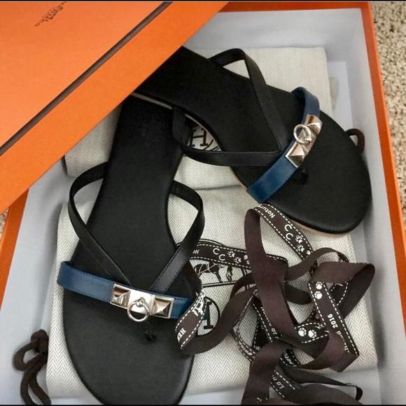 89922a9c3755ec Hermes Corfou Sandals